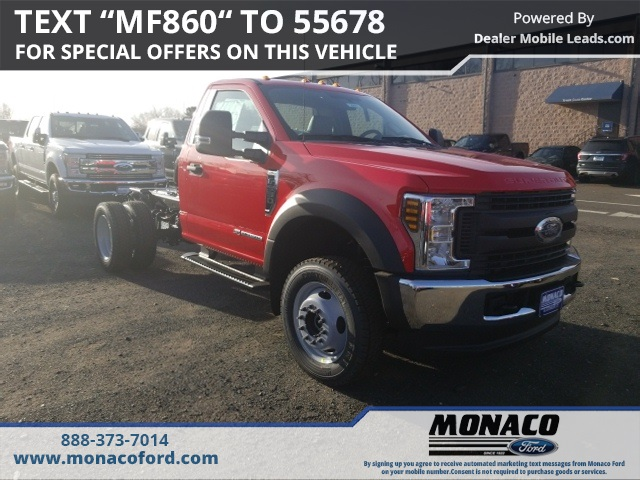 2019 F-550 Regular Cab DRW 4x4,  Cab Chassis #192911 - photo 3