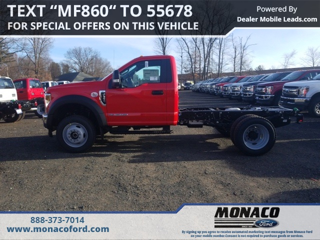 2019 F-550 Regular Cab DRW 4x4,  Cab Chassis #192911 - photo 5