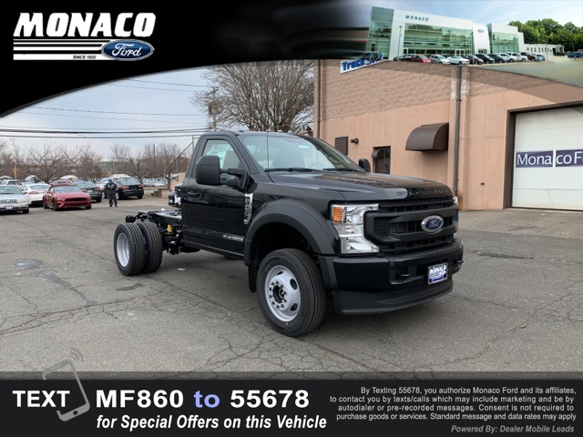 2021 Ford F-450 Regular Cab DRW 4x4, Cab Chassis #215077 - photo 1