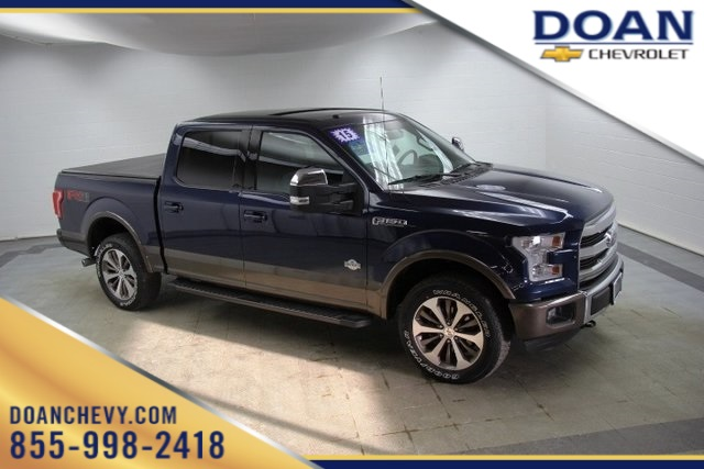 2015 F-150 Super Cab 4x4, Pickup #16403P - photo 1