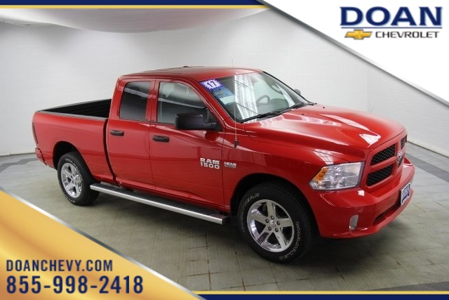 2017 Ram 1500 Quad Cab 4x4,  Pickup #16843P - photo 1