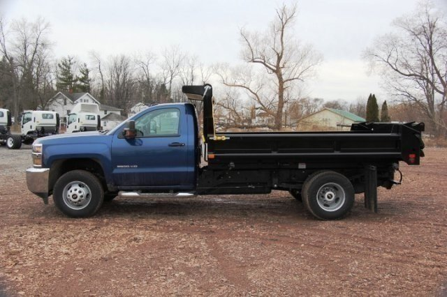2016 Silverado 3500 Regular Cab DRW 4x4, Air-Flo Dump Body #C84856 - photo 4