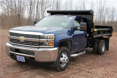2016 Silverado 3500 Regular Cab DRW 4x4, Air-Flo Pro-Class Dump Body #C84856 - photo 1