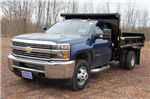 2016 Silverado 3500 Regular Cab DRW 4x4, Air-Flo Dump Body #C84856 - photo 1