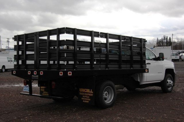 2017 Silverado 3500 Regular Cab DRW, Knapheide Stake Bed #C85437 - photo 6