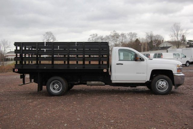 2017 Silverado 3500 Regular Cab DRW, Knapheide Stake Bed #C85437 - photo 7