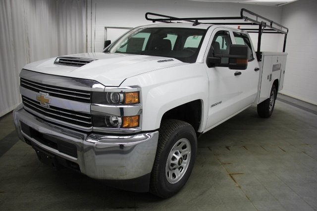 2018 Silverado 3500 Crew Cab 4x4,  Reading Service Body #C86783 - photo 5
