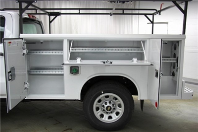 2018 Silverado 3500 Crew Cab 4x4,  Reading Classic II Steel Service Body #C86783 - photo 23