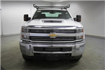 2018 Silverado 3500 Crew Cab 4x4,  Reading Classic II Steel Service Body #C86783 - photo 4