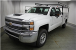2018 Silverado 3500 Crew Cab 4x4,  Reading Classic II Steel Service Body #C86783 - photo 5