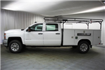 2018 Silverado 3500 Crew Cab 4x4,  Reading Classic II Steel Service Body #C86783 - photo 6