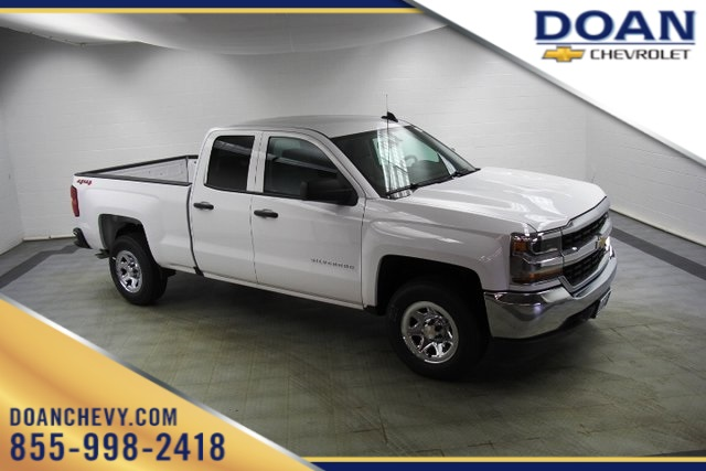 2018 Silverado 1500 Double Cab 4x4, Pickup #C86826 - photo 1