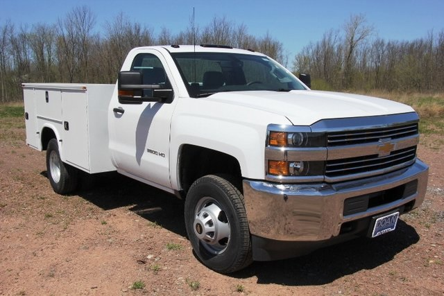 2018 Silverado 3500 Regular Cab DRW 4x4,  Knapheide Service Body #C87006 - photo 3