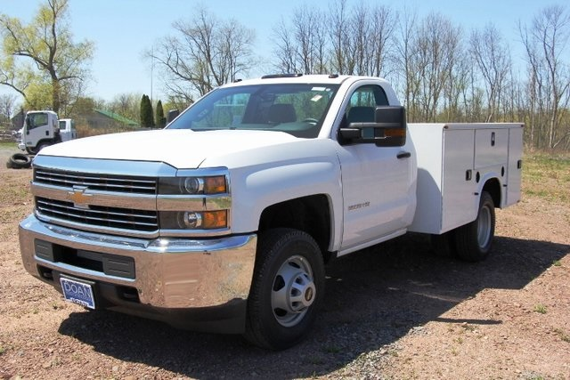 2018 Silverado 3500 Regular Cab DRW 4x4,  Knapheide Service Body #C87006 - photo 5