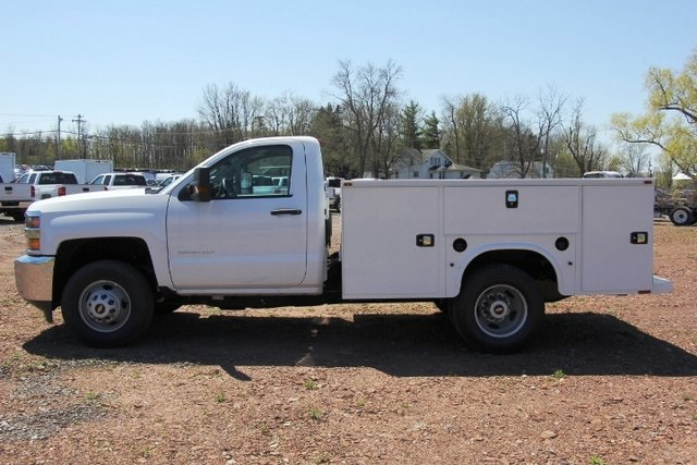 2018 Silverado 3500 Regular Cab DRW 4x4,  Knapheide Service Body #C87006 - photo 6