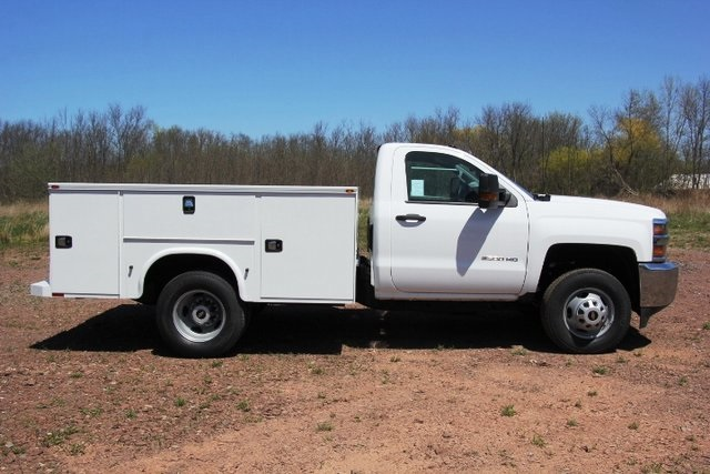 2018 Silverado 3500 Regular Cab DRW 4x4,  Knapheide Service Body #C87006 - photo 9