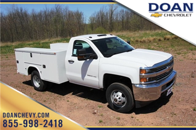 2018 Silverado 3500 Regular Cab DRW 4x4,  Knapheide Standard Service Body #C87006 - photo 1