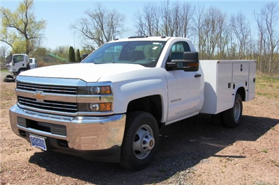 2018 Silverado 3500 Regular Cab DRW 4x4,  Knapheide Standard Service Body #C87006 - photo 5