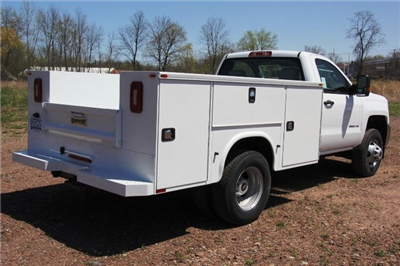 2018 Silverado 3500 Regular Cab DRW 4x4,  Knapheide Standard Service Body #C87006 - photo 2