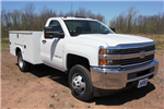 2018 Silverado 3500 Regular Cab DRW 4x4,  Knapheide Standard Service Body #C87006 - photo 3