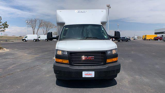 2021 GMC Savana 3500 DRW 4x2, Rockport Cargoport Cutaway Van #G210505 - photo 9