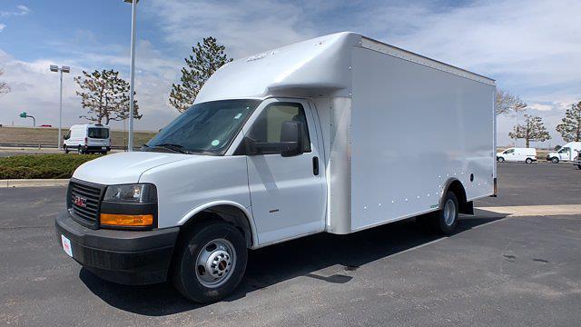2021 GMC Savana 3500 DRW 4x2, Rockport Cargoport Cutaway Van #G210511 - photo 3