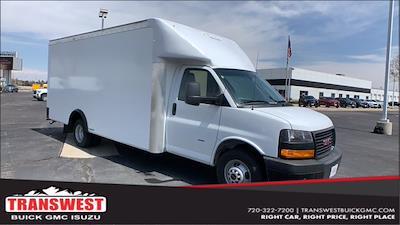 2021 GMC Savana 3500 DRW 4x2, Rockport Cargoport Cutaway Van #G210511 - photo 1