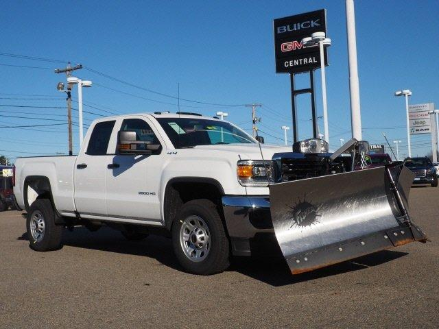 2019 Sierra 2500 Extended Cab 4x4,  Fisher Snowplow Pickup #G190032 - photo 15