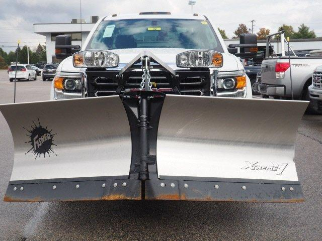 2019 Sierra 2500 Extended Cab 4x4,  Fisher Snowplow Pickup #G190032 - photo 24