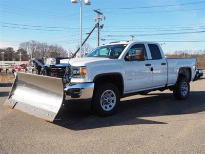 2019 Sierra 2500 Extended Cab 4x4,  Fisher Snowplow Pickup #G190032 - photo 17