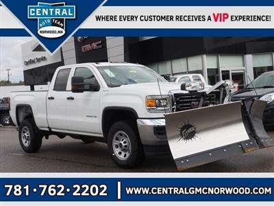 2019 Sierra 2500 Extended Cab 4x4,  Fisher Snowplow Pickup #G190032 - photo 1