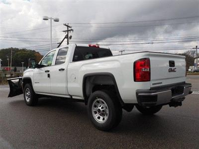 2019 Sierra 2500 Extended Cab 4x4,  Fisher Snowplow Pickup #G190032 - photo 4