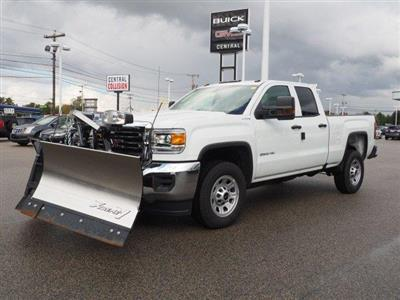 2019 Sierra 2500 Extended Cab 4x4,  Fisher Snowplow Pickup #G190032 - photo 25