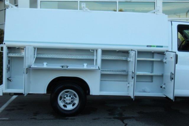 2019 Express 3500 4x2,  Reading Aluminum CSV Service Utility Van #900016 - photo 14
