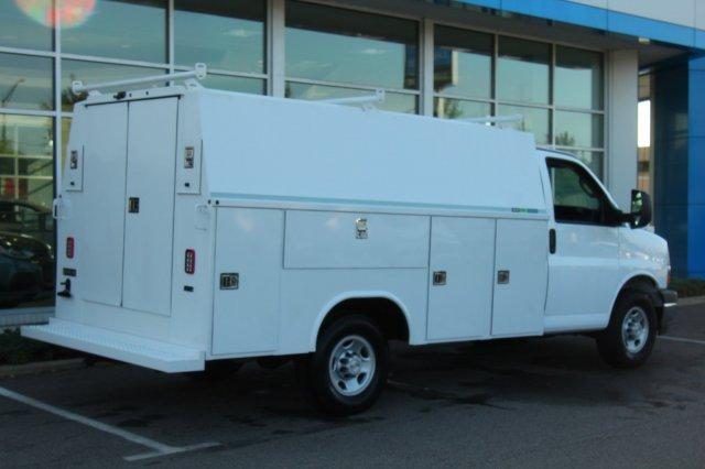 2019 Express 3500 4x2,  Reading Aluminum CSV Service Utility Van #900016 - photo 6
