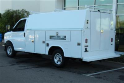 2019 Express 3500 4x2,  Reading Aluminum CSV Service Utility Van #900016 - photo 2
