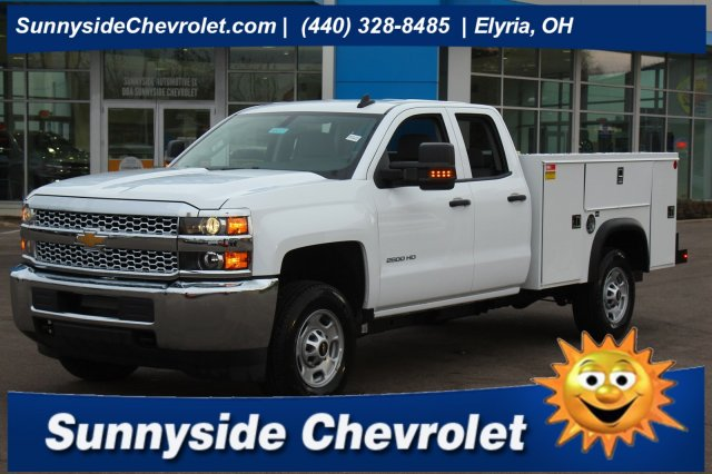 2019 Silverado 2500 Double Cab 4x2, Monroe Service Body #900371 - photo 1