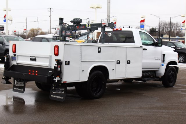 2020 Chevrolet Silverado 5500 Regular Cab DRW 4x2, Knapheide Steel Service Body Crane Body #900842 - photo 6