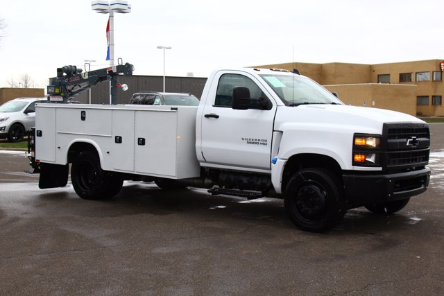 2020 Chevrolet Silverado 5500 Regular Cab DRW 4x2, Knapheide Steel Service Body Crane Body #900842 - photo 7