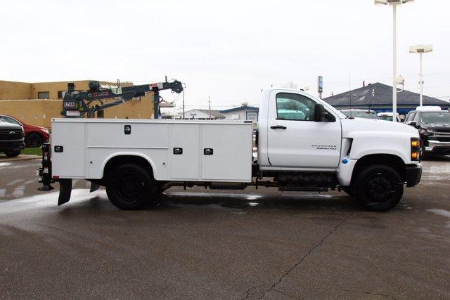 2020 Chevrolet Silverado 5500 Regular Cab DRW 4x2, Knapheide Steel Service Body Crane Body #900842 - photo 8