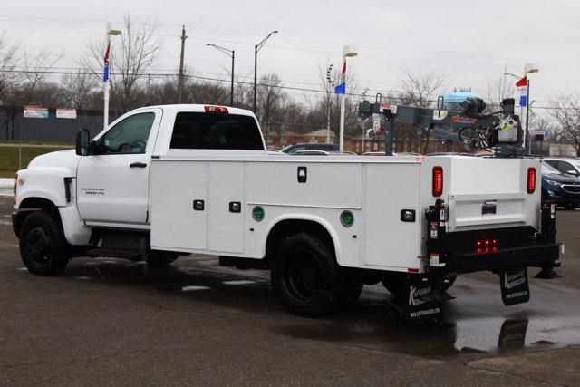 2020 Chevrolet Silverado 5500 Regular Cab DRW 4x2, Knapheide Steel Service Body Crane Body #900842 - photo 10