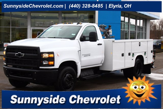 2020 Chevrolet Silverado 5500 Regular Cab DRW 4x2, Knapheide Crane Body #900842 - photo 1