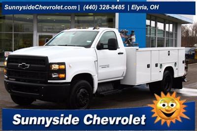 2020 Chevrolet Silverado 5500 Regular Cab DRW 4x2, Knapheide Steel Service Body Crane Body #900842 - photo 1
