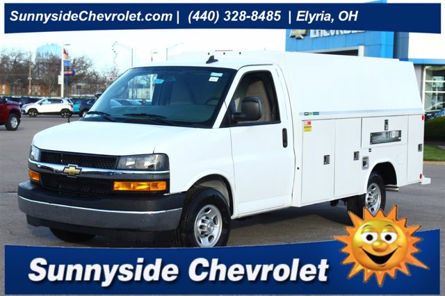 2020 Chevrolet Express 3500 4x2, Reading Service Utility Van #901291 - photo 1