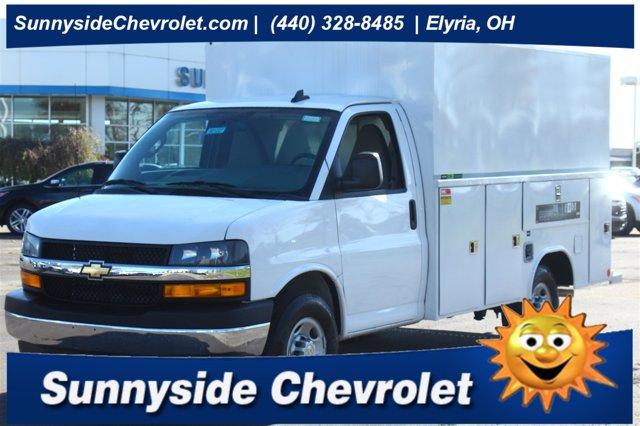 2020 Chevrolet Express 3500 4x2, Reading Service Utility Van #901364 - photo 1
