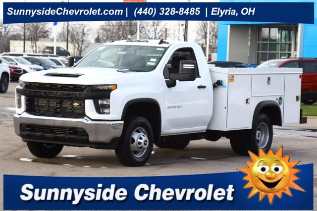 2020 Chevrolet Silverado 3500 Regular Cab DRW 4x4, Monroe Service Body #901447 - photo 1