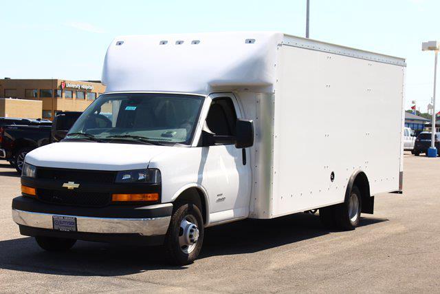 2021 Express 4500 DRW 4x2,  Rockport Cargoport Cutaway Van #901624 - photo 11
