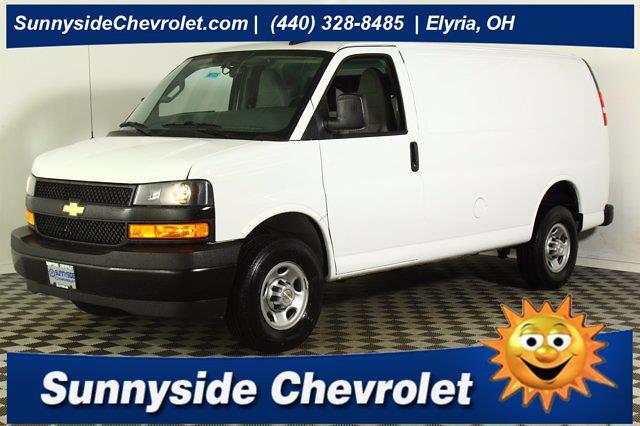 2021 Chevrolet Express 2500 4x2, Knapheide Empty Cargo Van #901725 - photo 1