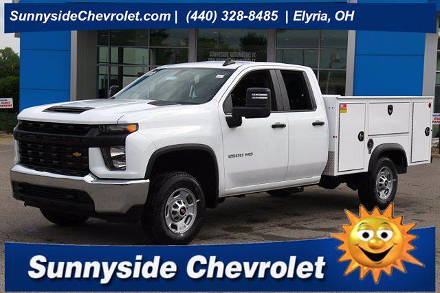 2021 Chevrolet Silverado 2500 Double Cab 4x4, Monroe Service Body #901744 - photo 1