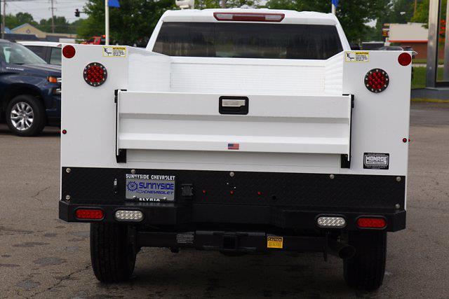 2021 Chevrolet Silverado 2500 Double Cab 4x4, Monroe AL Series MSS II Service Body #901744 - photo 9